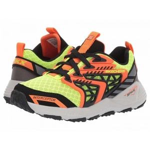Skechers KIDS Turbo Spike 97912L (Little Kid/Big Kid) Yellow/Black [Sale]
