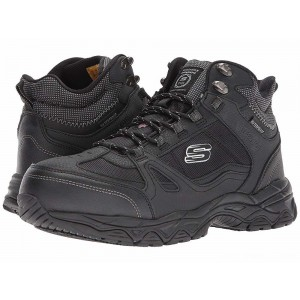 Skechers Work Ledom Steel Toe WP Black [Sale]
