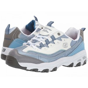 Skechers Work D'Lites SR Health Care Pro - Relaxed Fit Light Blue [Sale]