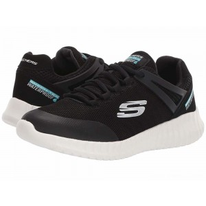 Skechers KIDS Elite Flex 97893L (Little Kid/Big Kid) Black [Sale]