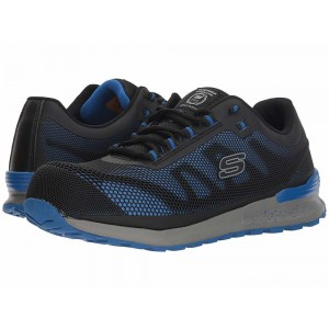 Skechers Work Bulklin Comp Toe Blue [Sale]